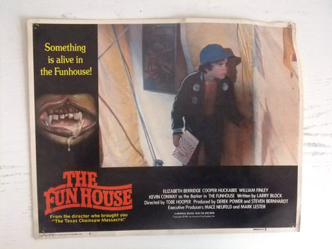 "{Set of 7} The Fun House (WILLIAM FINLEY) 11X14"" Org. Movie LOBBY CARD 80s"