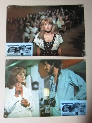 "{Set of 11} Cazar un Gato Negro {SUE VANNER} 10X13"" Spanish LOBBY CARD 70s"