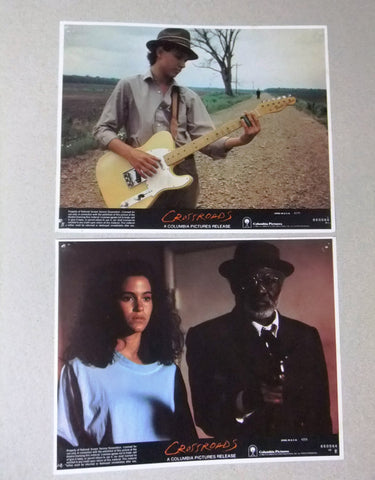 "{Set of 8} Crossroads (Ralph Macchio) 10X8"" Org. Movie LOBBY CARD 80s"
