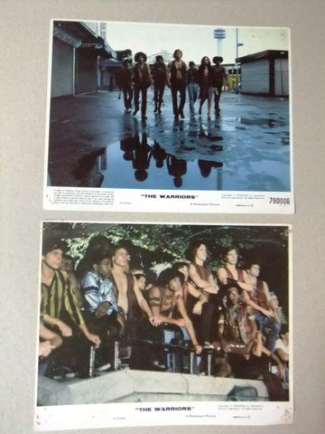 "{Set of 8} The Warriors (MICHAEL BECK) Org. 8x10"" U.S Lobby Cards 70s"