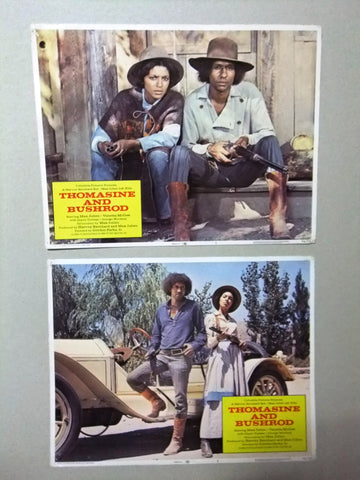 "(SET OF 8) Thomasine And Bushrod 11X14"" Original LOBBY CARD 80s"