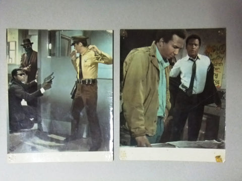 {Set of 14} Sidney Poitier Film German Lobby Cards 60s