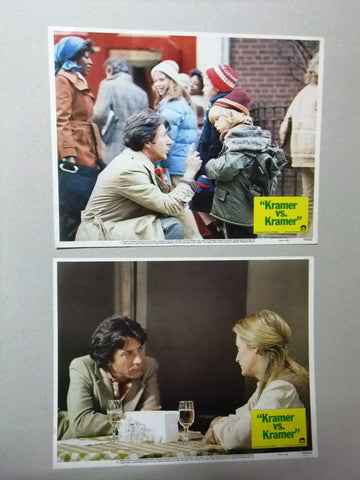 (Set of 8) Kramer vs. Kramer (Dustin Hoffman) 11x14 Org. U.S Lobby Cards 70s