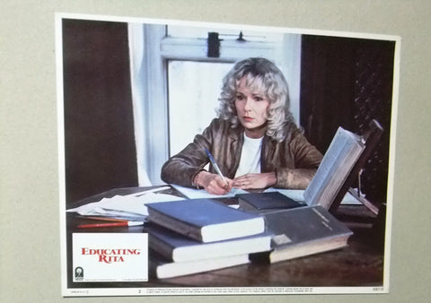 "{Set of 8} EDUCATING RITA MAUREEN LIPMAN 11X14"" Org. Movie LOBBY CARD 80s"