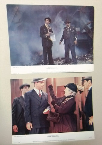 "{Set of 8} JOHNNY DANGEROUSLY Michael Keaton 11X14"" Org. Movie LOBBY CARD 80s"