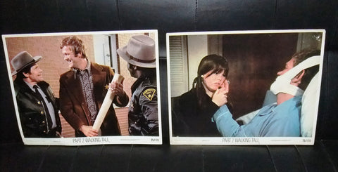 {Set of 8} Part 2 Walking Tall Bruce Glover 11x14 Org. U.S Lobby Cards 70s