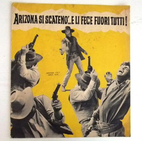 Arizona si scateno e li fece fuori tutti Italian Org. Movie Poster Program 70s