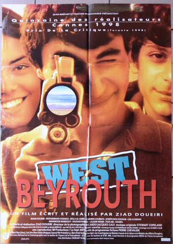 West Beyrouth Beirut {Rami Doueiri} Original Lebanese Movie Poster 90s
