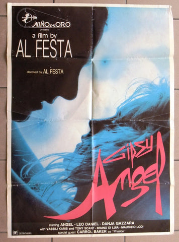 Gipsy Angel (Sammy Luck) Original Lebanese Movie Poster 90s