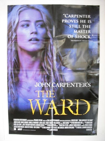 The Ward (Amber Heard) Int. Orig. SS 40x27  Movie Poster 2010