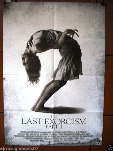 "The Last Exorcism {Ashley Bell} Original INT. 40""x27"" Movie Poster 2013"