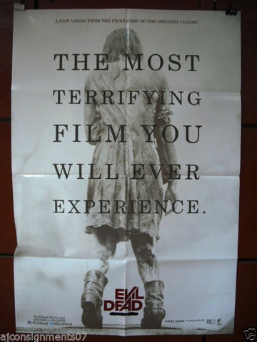 "Evil Dead {Jane Levy} DB Original INT. 40""x27"" Movie Poster 2013"
