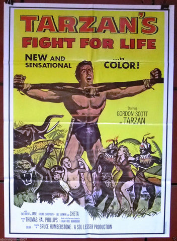 TARZAN'S FIGHT FOR LIFE Poster