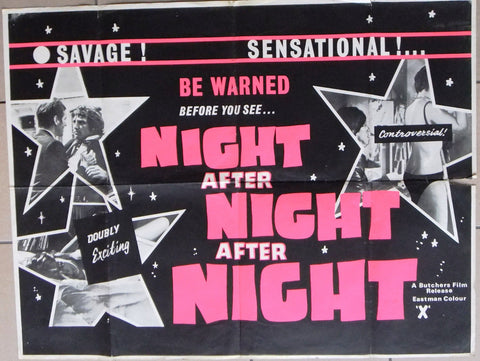 Night After Night, After Night Quad Poster