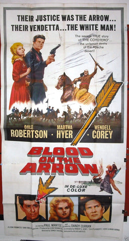 Blood on the Arrow 3sh Poster