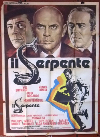 Le serpent 2F Poster