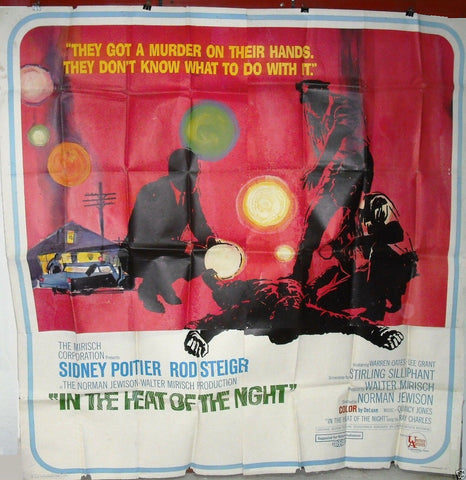 IN THE HEAT OF THE NIGHT 6sh Poster