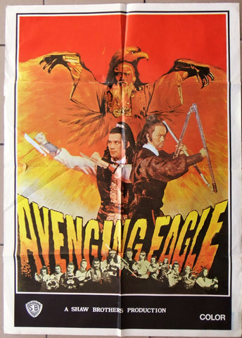 The Avenging Eagle (Leng xue shi san ying) Poster