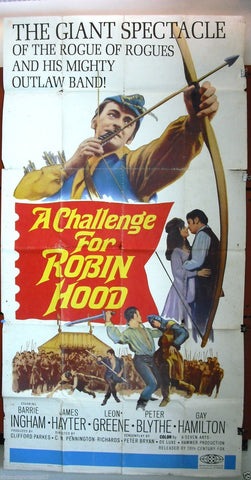 A Challenge for Robin Hood 3sh Poster