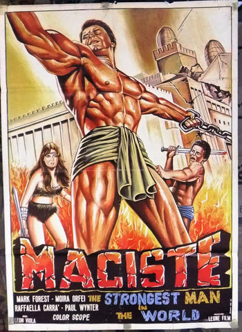 Maciste, the Strongest Man in the World Poster