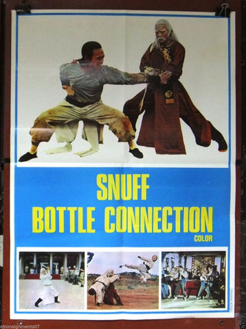 Snuff Bottle Connection (Shen tui tie shan gong) Poster