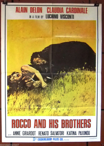 Rocco and his Brother Poster