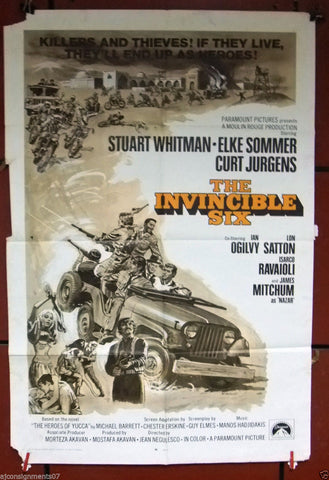 The Invincible Six Poster