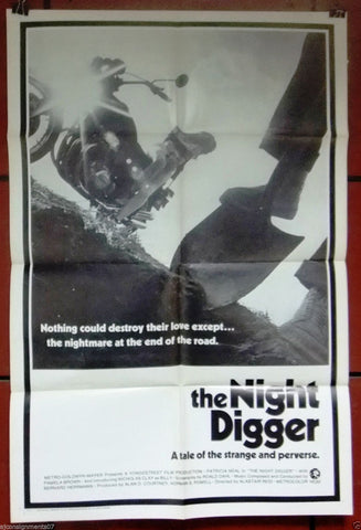 The Night Digger Poster