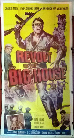 Revolt in the big house 3sh Poster