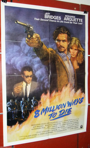 8 Million Ways to Die Poster