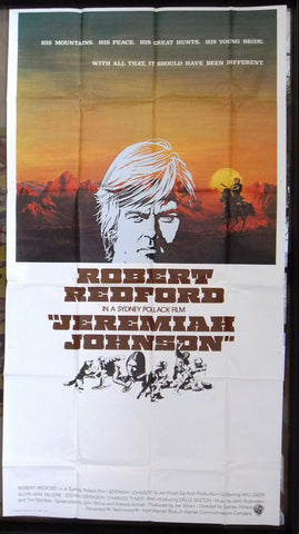 Jeremiah Johnson 3sh Poster