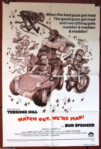 Watch Out, We're Mad! Poster