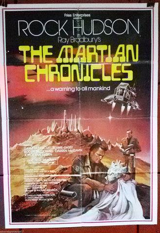 The Martian Chronic Poster