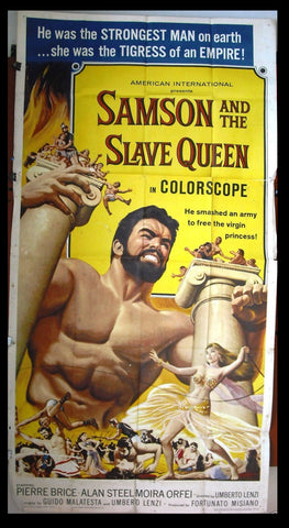 Samson and the Slave Queen 3sh Poster