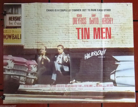 Tin Men Quad Poster
