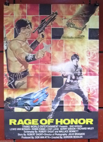 RAGE OF HONOR Poster