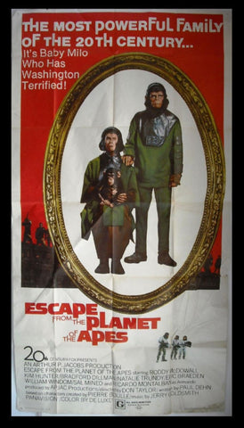Escape from the Planet of the Apes 3sh Poster