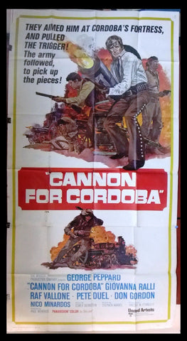 Cannon for Cordoba 3sh Poster