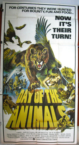 Day of the Animals 3sh Poster