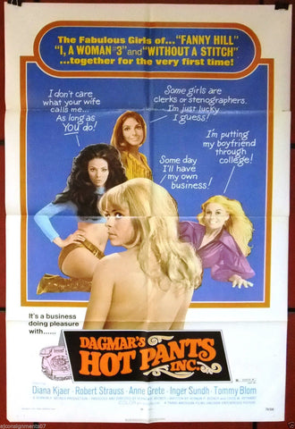 DAGMAR'S HOT PANTS INC Poster