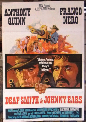 DEAF SMITH & JOHNNY EARS Poster