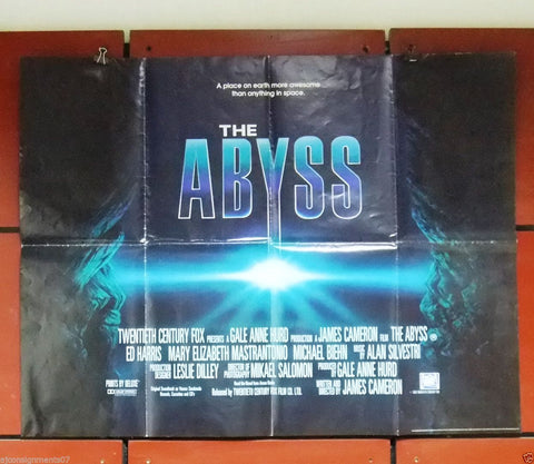 The Abyss Quad Poster