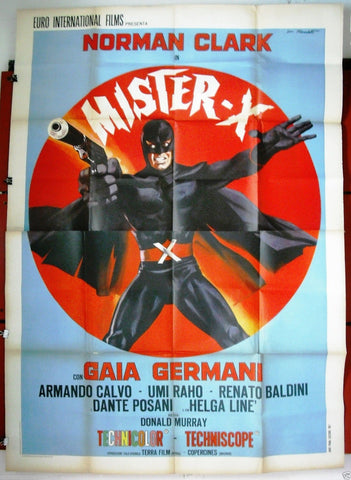 Mister x 4F Poster