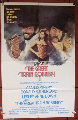 The First Great Train Robbery Poster