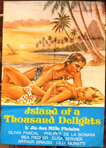 ISLAND OF A THOUSAND DELIGHTS Poster