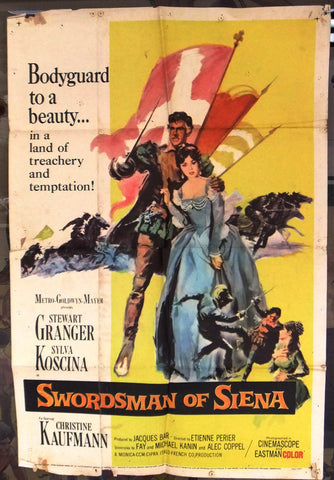Swordsman of Siena Poster
