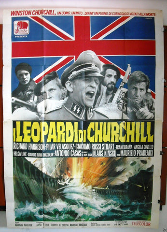 I Leopardi di Churchill 4F Poster
