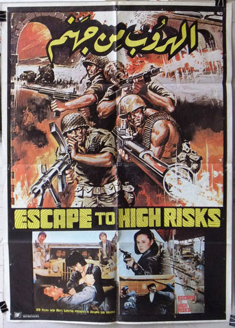 ESCAPE TO HIGH RISKS Poster