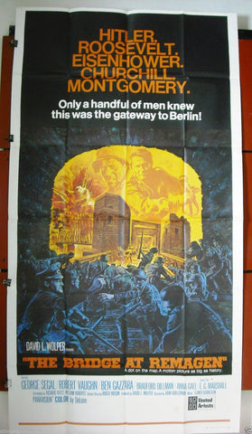 The Bridge at Remagen 3sh Poster