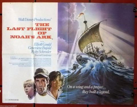 The Last Flight of Noah's Ark Quad Poster